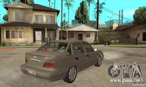 Daewoo Nexia Dohc 2009 pour GTA San Andreas vue de droite