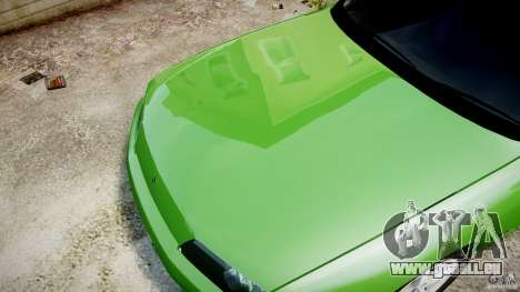 Nissan Skyline R32 GTS-t 1989 [Final] pour GTA 4 est une vue de dessous
