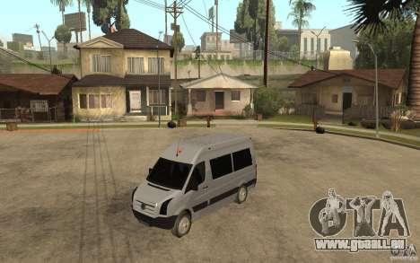 Volkswagen Crafter school bus pour GTA San Andreas
