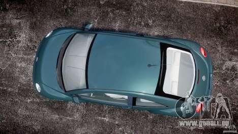 Volkswagen New Beetle 2003 pour GTA 4 est un droit