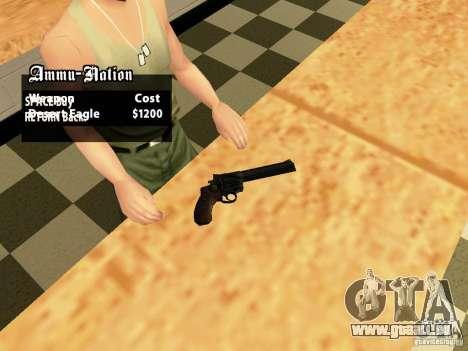 44.Magnum pour GTA San Andreas deuxième écran