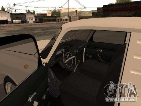 IZH 2715 pour GTA San Andreas vue arrière