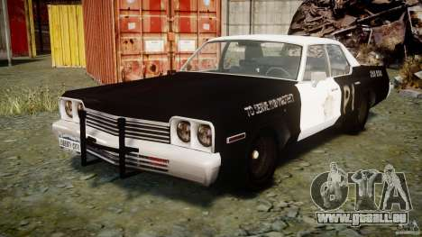 Dodge Monaco 1974 (bluesmobile) für GTA 4