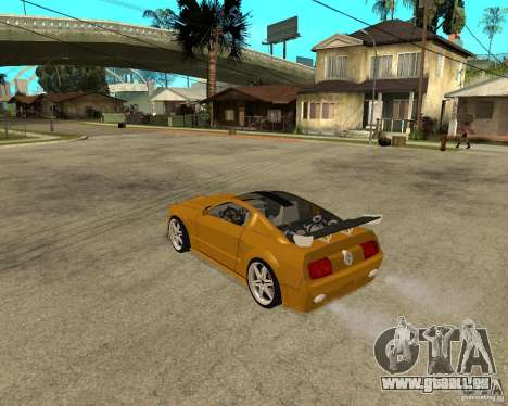 Ford Mustang GT 2005 Concept JVT LORD TUNING für GTA San Andreas linke Ansicht