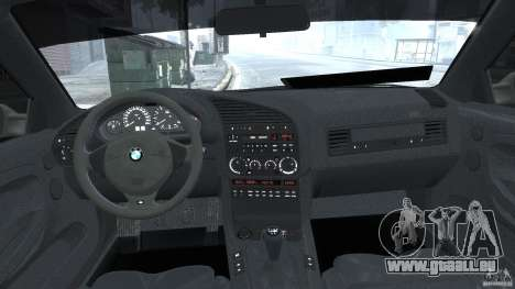 BMW e36 M3 für GTA 4 obere Ansicht