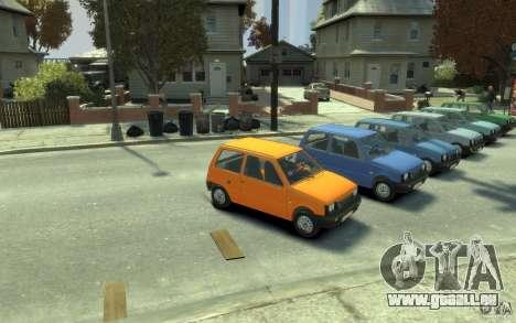 1111 OKA pour GTA 4 Vue arrière