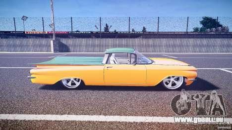 Chevrolet El Camino Custom 1959 pour GTA 4 est une vue de l'intérieur
