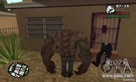 Tank von der Left 4 Dead für GTA San Andreas zweiten Screenshot