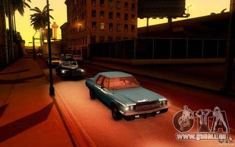 Dodge Monaco für GTA San Andreas Rückansicht