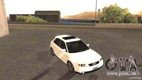 Audi A3 1.8T 180cv für GTA San Andreas