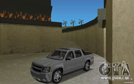 Chevrolet Avalanche 2007 für GTA Vice City