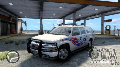 Chevrolet Suburban 2006 Police K9 UNIT pour GTA 4