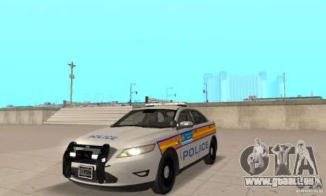 Ford Taurus 2011 Metropolitan Police Car für GTA San Andreas