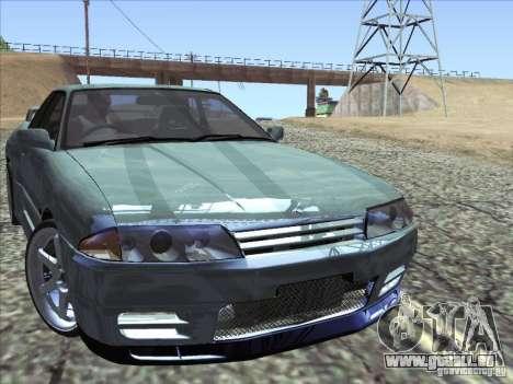 Nissan Skyline GT-R 32 1993 pour GTA San Andreas vue arrière