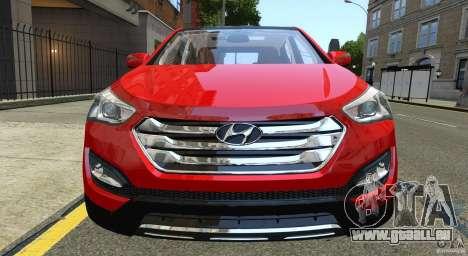 Hyundai Santa Fe Sport 2013 für GTA 4 Seitenansicht
