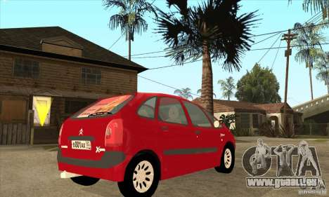 Citroen Xsara Picasso pour GTA San Andreas vue de droite