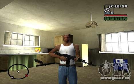 L'AK-74 m pour GTA San Andreas