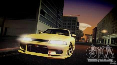 Nissan Skyline GTS R33 für GTA San Andreas Seitenansicht