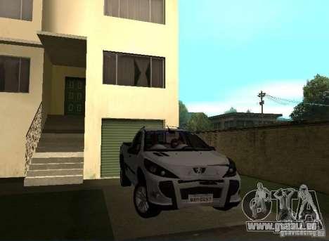 Peugeot Hoggar Escapade 2010 pour GTA San Andreas vue de droite
