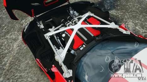 SRT Viper GTS 2013 pour GTA 4 vue de dessus