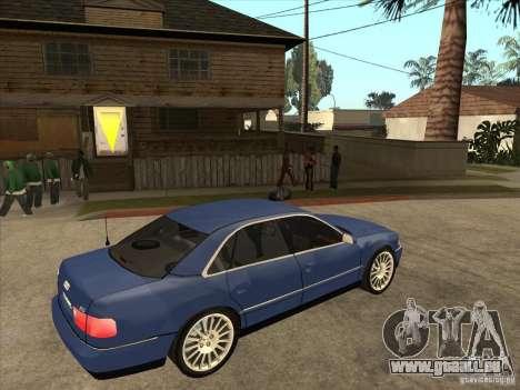 Audi A8 pour GTA San Andreas vue de droite