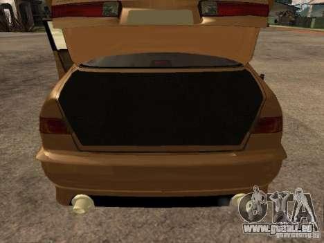 Toyota Camry 2002 TRD für GTA San Andreas Rückansicht