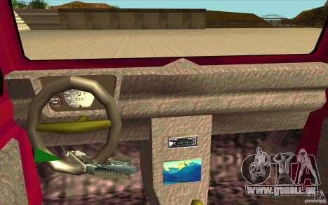 Land Rover Defender 90SW für GTA San Andreas rechten Ansicht