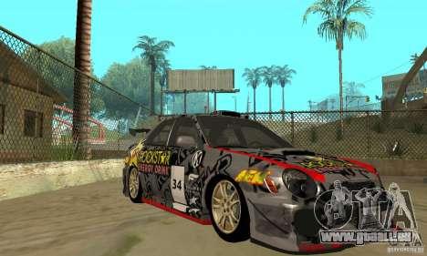 Subaru Impreza 2002 Tunable - Stock pour GTA San Andreas