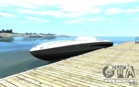 New Jetmax pour GTA 4 est une vue de l'intérieur