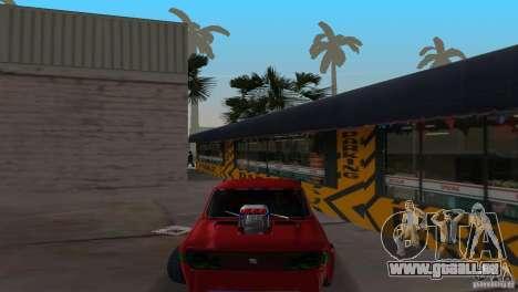 Zastava 110 GT pour GTA Vice City sur la vue arrière gauche