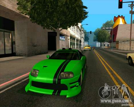 Toyota Supra NFS Most Wanted pour GTA San Andreas