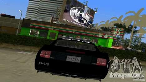 Saleen S281 Barricade 2007 für GTA Vice City rechten Ansicht
