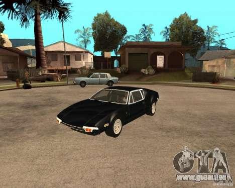 1971 De Tomaso Pantera für GTA San Andreas