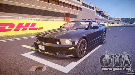 Saleen S281 Extreme Unmarked Police Car - v1.1 pour GTA 4