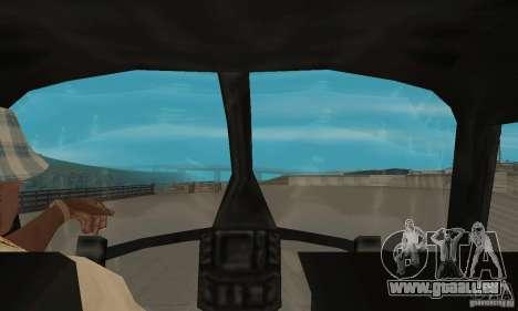 Nouveau Seaspar pour GTA San Andreas vue arrière