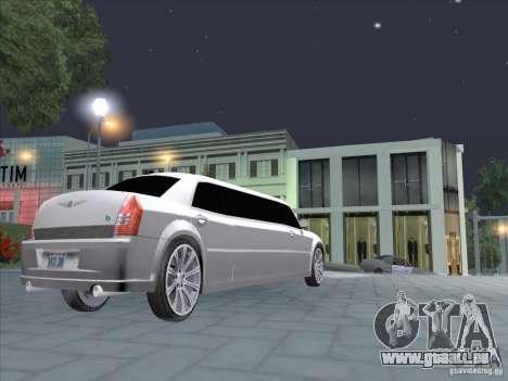Chrysler 300C Limo für GTA San Andreas rechten Ansicht