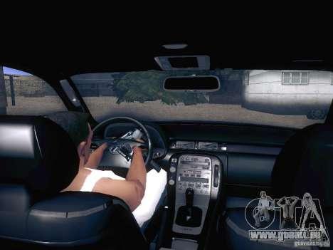 Lexus SC300 - Stock pour GTA San Andreas vue arrière