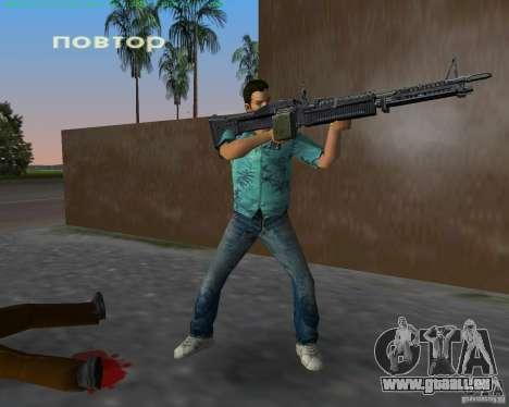 Le nouveau M-60 pour GTA Vice City