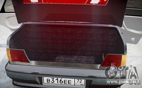 VAZ 2115 v1. 0 für GTA 4 Innen