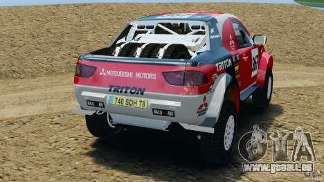Mitsubishi L200 Triton pour GTA 4 Vue arrière de la gauche