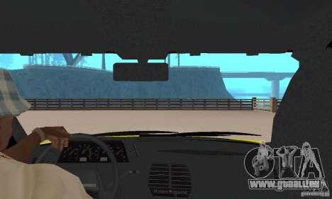 VAZ 21124 TAXI pour GTA San Andreas vue arrière
