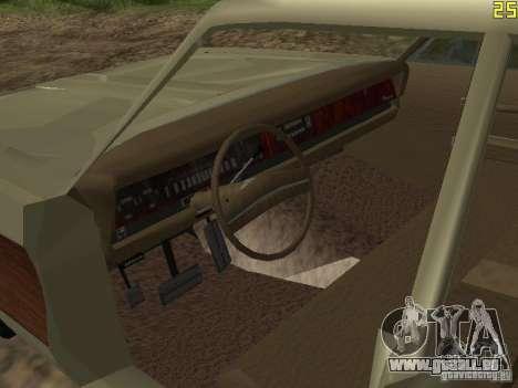 Chrysler Town and Country 1967 für GTA San Andreas Rückansicht