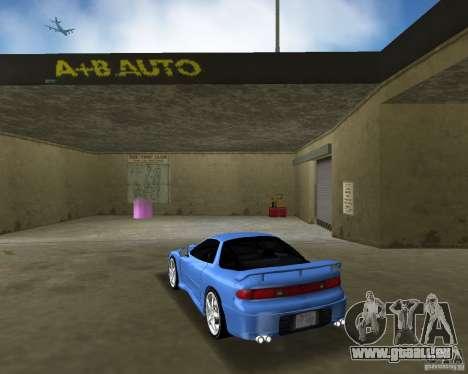 Mitsubishi 3000 GT 1993 pour GTA Vice City sur la vue arrière gauche