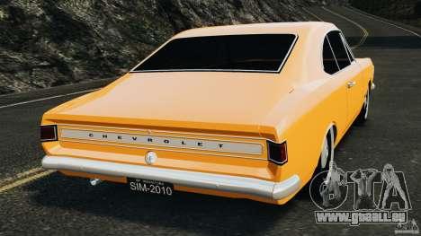Chevrolet Opala Gran Luxo pour GTA 4 Vue arrière de la gauche