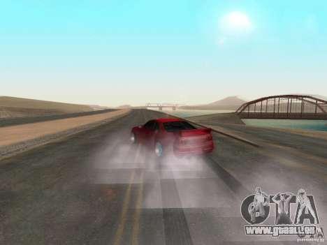 Nouvelle eau de textures et de fumée pour GTA San Andreas troisième écran