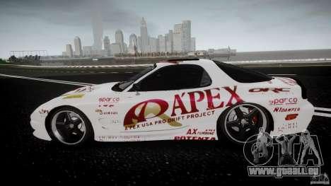 Mazda RX7 FD Apex Imamura für GTA 4 linke Ansicht
