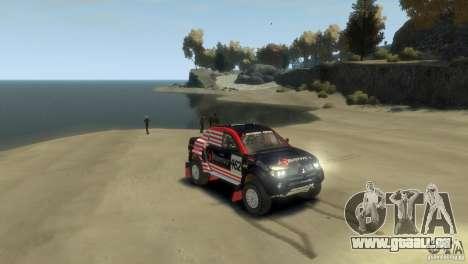Mitsubishi L200 Rally pour GTA 4 est un droit