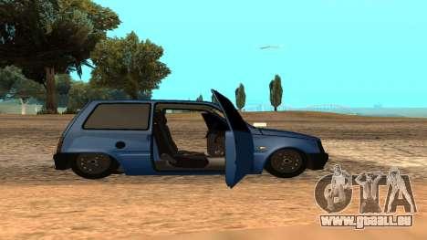 VAZ 1111 Oka pour GTA San Andreas vue de côté