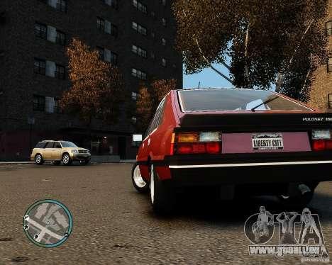 FSO Polonez 1500 Borewicz pour GTA 4 est un droit