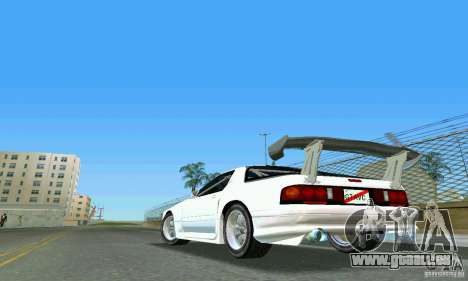 Mazda Savanna RX-7 FC3S für GTA Vice City linke Ansicht